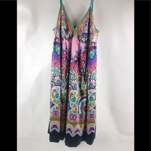 Mix It Colorful Dress Sz 12